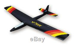 SIG Ninja Balsa Wood RC R/C Remote Control Airplane Glider Kit SIGRC63 RC63