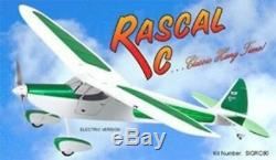 SIG Rascal RC Remote Control Balsa Wood Electric / Nitro Airplane Kit SIGRC80