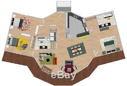 Sacramento Prefab Kit Home-Pre-fab, panelized, delivered ready to build