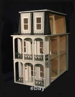 Saint Charles 1 Inch Scale Dollhouse Kit Laser Cut