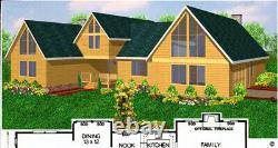 Salinas Country 54x75 Customizable Shell Kit Home, delivered ready to build