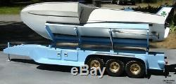 Scale 1/12 U-7 Powerboat 32.2'' Wood Model Boat Kit