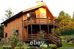 Seabrook 28 x 36 Customizable Shell Kit Home, delivered ready to build