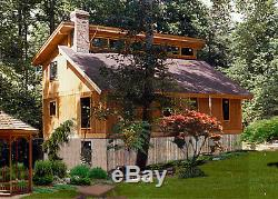 Shenandoah 28 x 36 Customizable Shell Kit Home, delivered ready to build