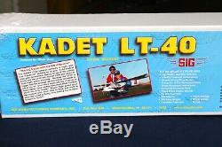 Sig Kadet Lt-40 Sigrc67 Extra Value Kit Radio Control Trainer Kit Brand New Un-o