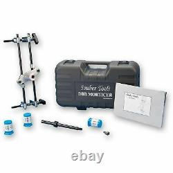 Souber Mortice Lock Fitting Jig DBB JIG1 Door Lock Mortiser Kit With 3 Cutters