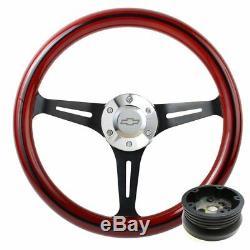 Split Spoke Steering Wheel 1974 1994 Chevy Pick-Up, Suburban, Blazer -Full Kit