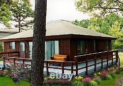 Sunset I 28 x 28 Customizable Shell Kit Home, delivered ready to build