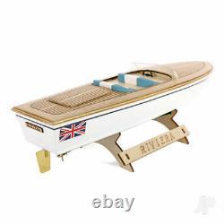 THE WOODEN BOAT COMPANY Riviera Motor Boat Kit 400mm