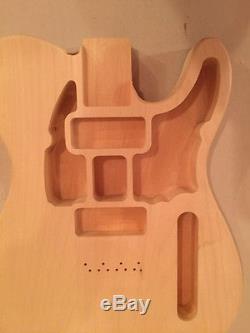 Telecaster Style Smugglers Body 2 P90 Pickups Legit Guitar Kits Linden Wood