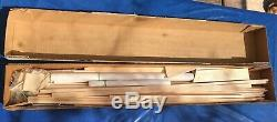 Telemaster 40, vintage balsa kit new in box never disturbed great trainer
