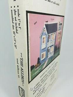 The Allison Vintage Wood Dollhouse Kit No. 77 ArtPly Doll House New SEALED Box
