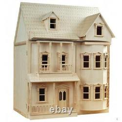 The Ashburton Ready to Assemble Dolls House Kit 12th Scale