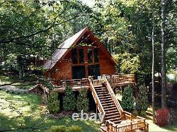 The Black Forest 36 x 28 Customizable Shell Kit Home, delivered ready to build