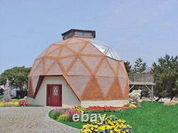 The Calaveras 30' Geodesic Dome Shell Kit Home, delivered ready to build