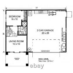 The Canyon Lands 25x36 Garage Customizable Shell Kit Barn-dominium