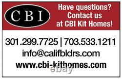 The Catalina 61 x 86 Customizable Shell Kit Home, delivered ready to build