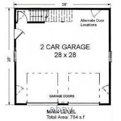 The Inglewood 28x28 Garage Customizable Shell Kit Barn-dominium, ready to build