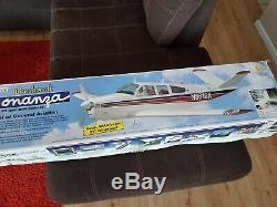 Top Flite Beechcraft Bonanza brand new un-assembled kit RC airplane damaged box