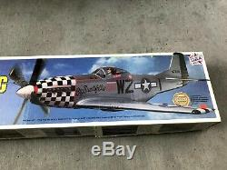 Topflite P-51D Mustang Balsa kit 65, 1/7th scale ROBART Retracts