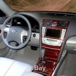 Toyota Camry 2007- 2012 New Auto Wood Dash Trim Basic Kit 31 Pcs With Navigation