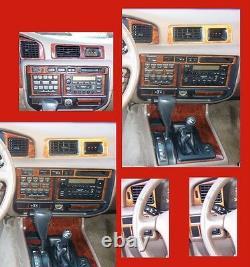 Toyota Land Cruiser 1995 1996 1997 Interior Set Grain Burl Wood Dash Trim Kit