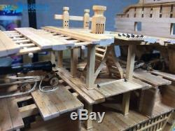 USS Bonhomme Richard Full rib Cross Section Scale 1/48 Wood Ship Model Kit