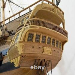 USS Bonhomme Richard Scale 1/48 58 Pear+Boxwood Version Wood model ship kit