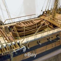 USS Bonhomme Richard Scale 1/48 58 Wood Model Ship Kit Sail Ship Kit