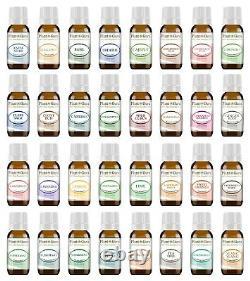 Ultimate Essential Oil Set 32 10ml Kit 100% Pure Therapeutic Grade Bulk Lot