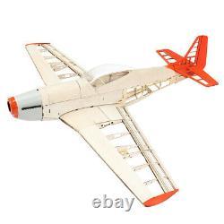 Upgraded RC Laser Cut Plane Balsa Wood Airplane Model P51 Kit Wingspan 1000mm