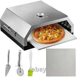 VEVOR 14''X16'' Pizza Oven Kit Portable Wood Pizza Oven Accessory Outdoor