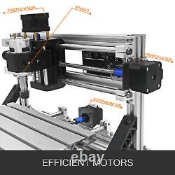 VEVOR CNC 2418 Router Kit 3 Axis GRBL Control Wood Milling Machine Wood Plastic