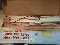 VINTAGE Atlas Van Lines hydroplane Unlimited U1 racing boatkit 1314 No Reserve