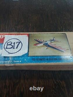 VLNTAGE NOS Super Chipmunk Balsa Wood C/L Control Line Airplane Kit SIGCL19