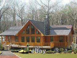 Ventura Ranch Chalet 36x78 Customizable Shell Kit Home, delivered ready to build