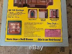 Vintage Dura-Craft Mansion Dollhouse Kit Heritage HR 560 Brand New In Sealed Box