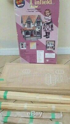 Vintage Linfield Dura-Craft Dollhouse LN190 1994 NEW UNUSED PARTS (OPEN BOX)