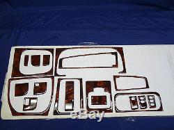 Volkswagen GOLF MK 3 93-97 CARBON OR WALNUT WOOD INTERIOR DASH KIT 19 PIECE VW