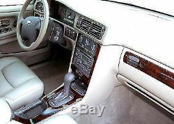Volvo C70 Fits 98-05 New Style Dashboard 16pcs Wood Carbon Alumin Dash Trim Kit