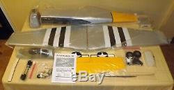 Vtg. NitroModels P-51D MUSTANG-60 R/C ARF Kit 60RTF Warbird New Missing Decals