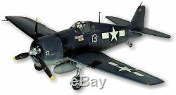 WWII F6F-3 Hellcat Balsa Wood Giant Scale Model Airplane Kit Guillow's GUI-1005