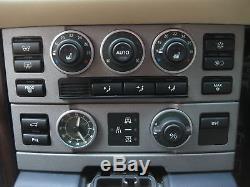 Walnut wood interior Fascia kit for Range Rover L322 dash 2pc Autobiography new