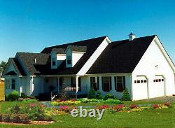 Williamsburg Colonial 51x69 Customzble Shell Kit Home, delivered ready to build