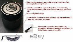 Wood Classic Steering Wheel & Boss Kit Hub Fit Vw T4 Transporter 96-03 3 Spoke