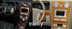 Wood Dash Auto Trim Kit Fit Lincoln Zephyr 2006 Mkz 2007-2009 New Car Tuning Set