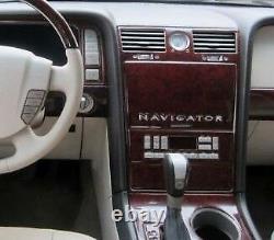 Wood Dash Auto Trim Kit Fit Lincoln Zephyr 2006 Mkz 2007-2009 New Car Tuning Set