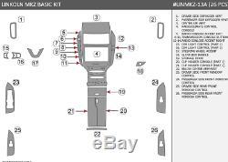 Wood Dash Auto Trim Kit Lincoln Mkz Zephyr Set Fits 2013 2018 New Style Panel