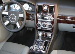 Wood Dash Trim Kit Fits Chrysler 300 2005 2006 2007 05 06