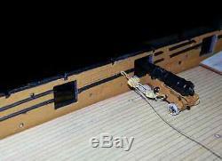 Wood Deck fits 1/100 HMS Victory Heller/Airfix kits by Scaledecks. Com